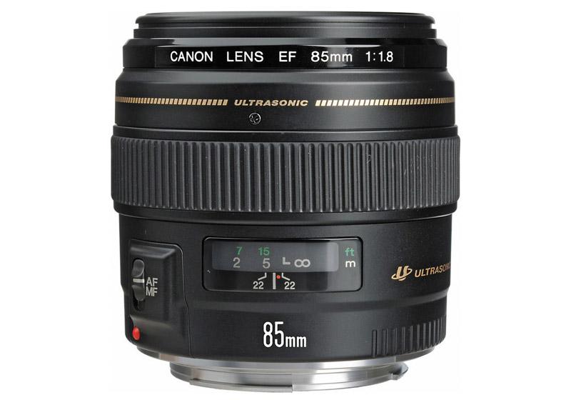 ống kính chụp chân sung Canon EF 85mm f1.8 USM
