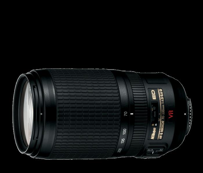 Ống kính tele Nikon AF-S 70-300mm f/4.5-5.6G IF-ED VR