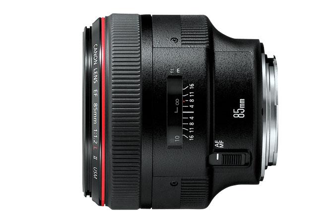 ống kính chụp chân dung canon 85mm 1.2