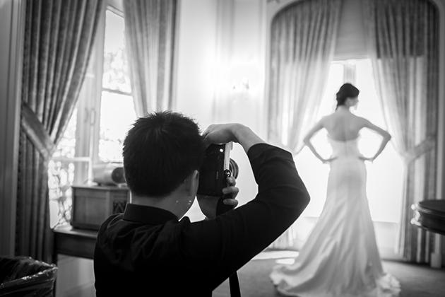 Thợ chụp ảnh cưới