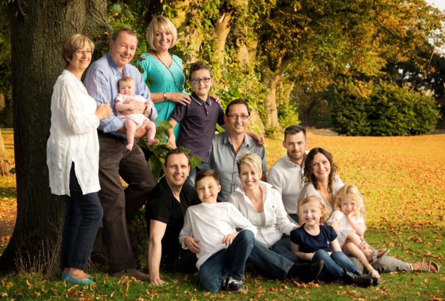 Ý tưởng chụp ảnh gia đình