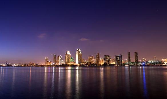 Chụp ảnh thành phố vào ban đêm
