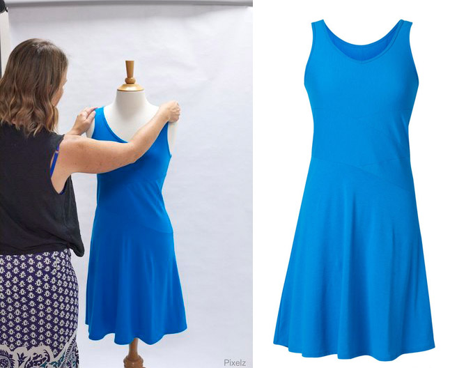 Chụp ảnh quần áo bán hàng online đẹp