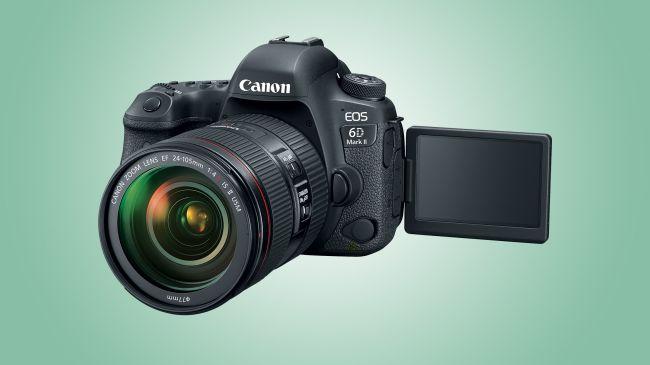 đánh giá canon EOS 6D Mark II