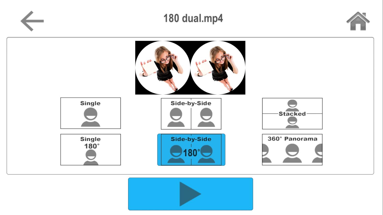 ứng dụng 360 độ AAA VR Cinema app
