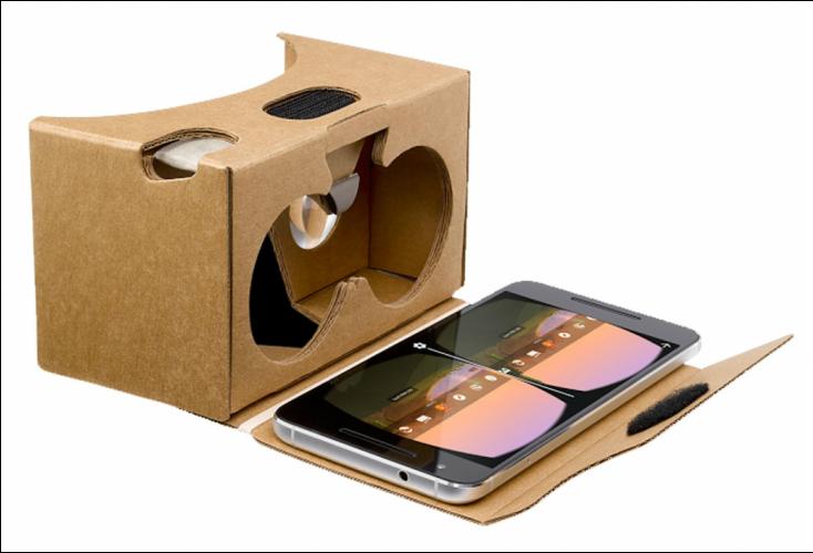 kính thực tế ảo Google Cardboard