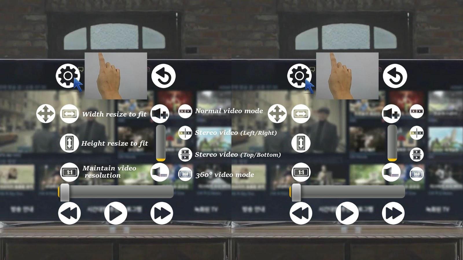 chơi video 360 kính VR