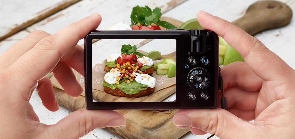 6 cách chụp food