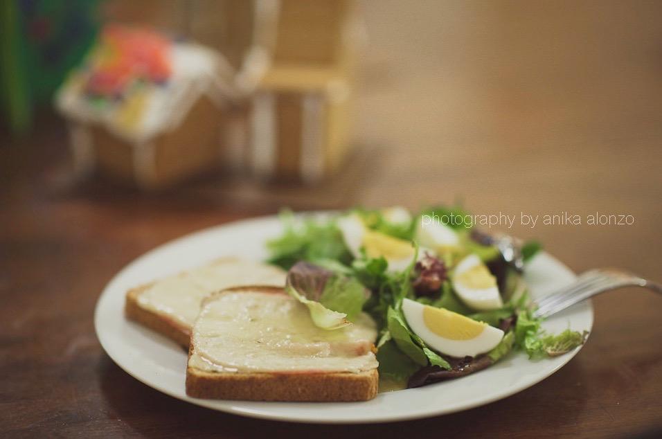 chụp hình bữa trưa