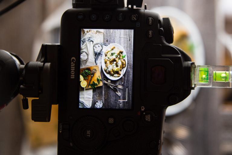 Chụp ảnh thực phẩm cho blog