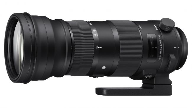 ong kinh Sigma 150-600mm f5-6.3 DG OS HSM Sport