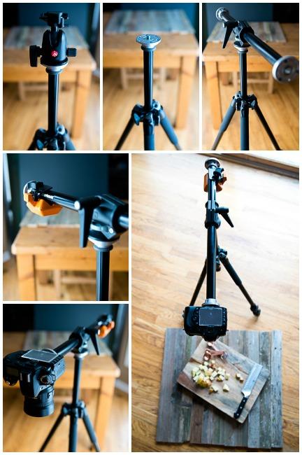 chân máy chụp food