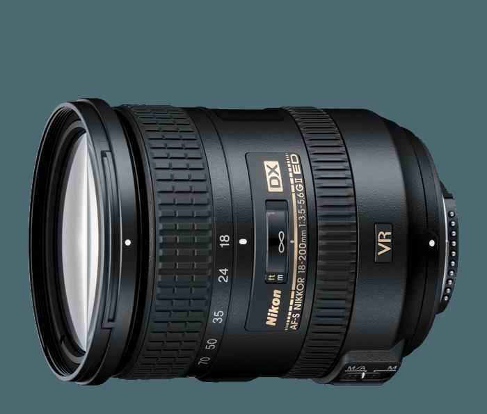 ống kính Nikon AF-S DX 18-200mm f/3.5-5.6G