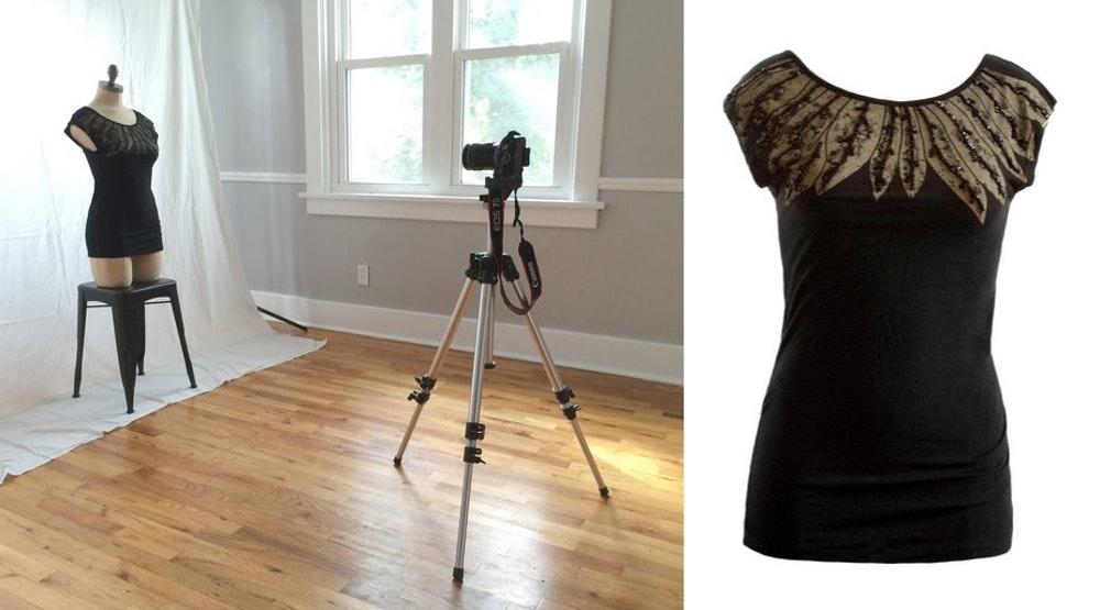 Nhiếp ảnh sản phẩm quần áo