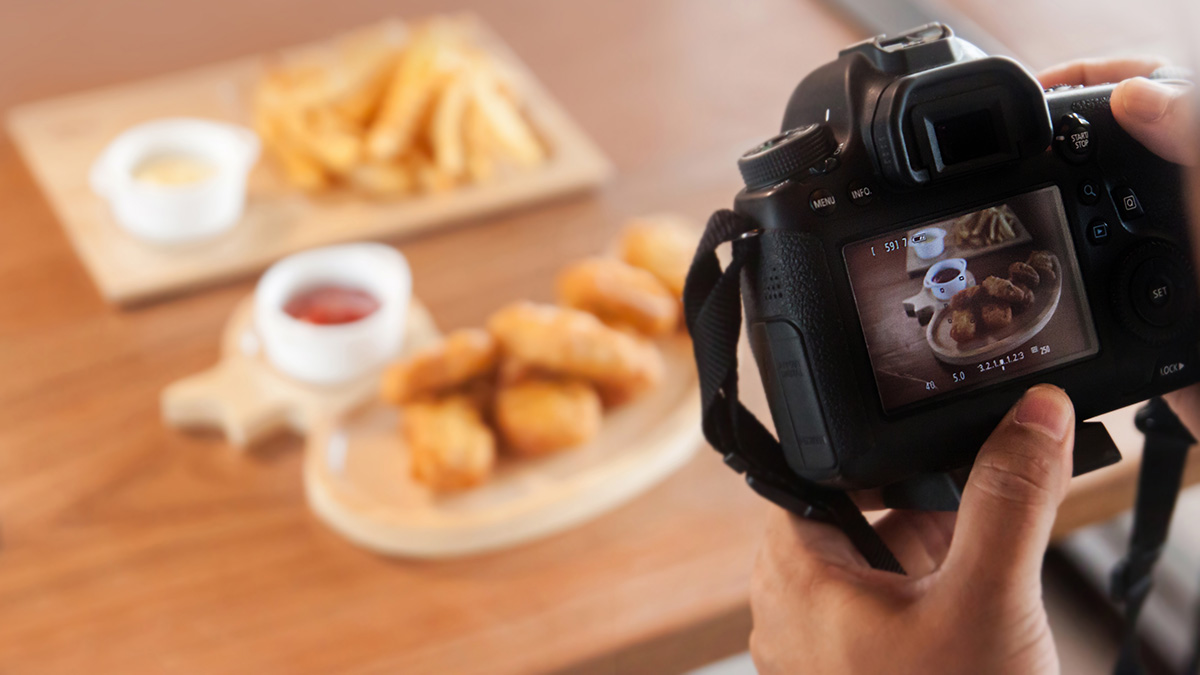 Máy ảnh tốt nhất cho chụp ảnh food
