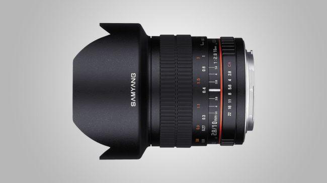 ống kính Samyang 10mm f/2.8 ED