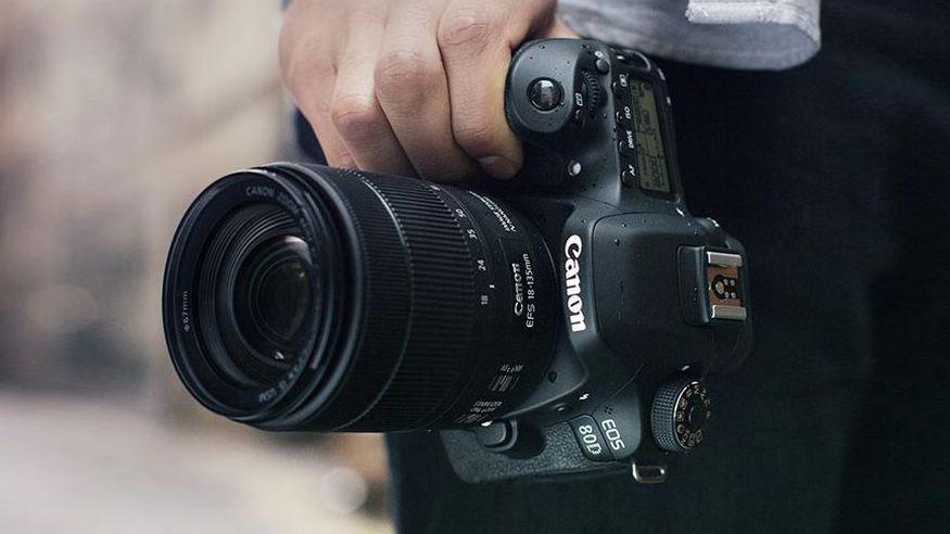 ống kính máy ảnh DSLR Canon Crop