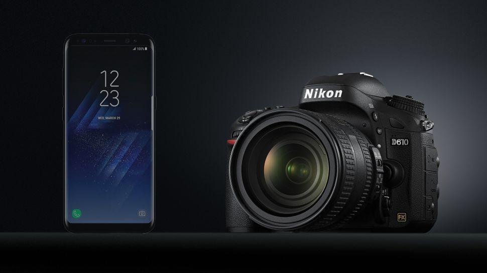 camera điện thoại và máy ảnh DSLR