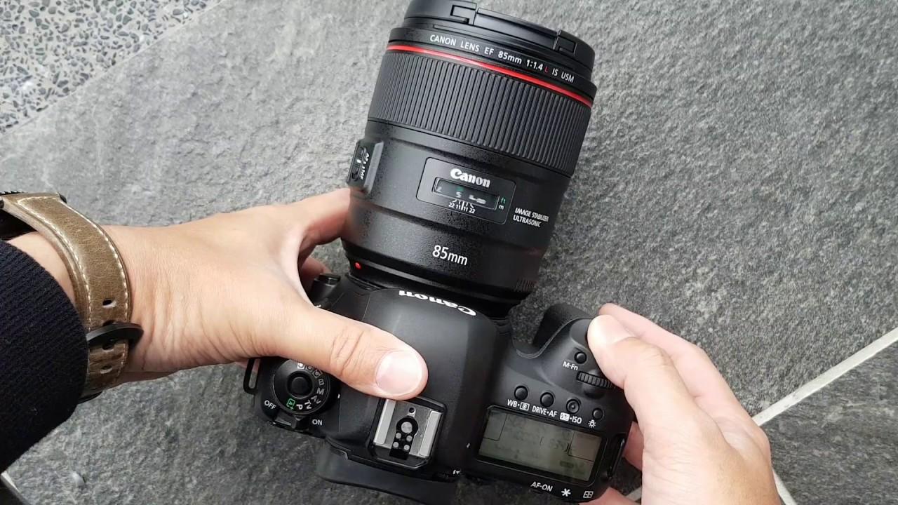 ống kính Canon DSLR full frame