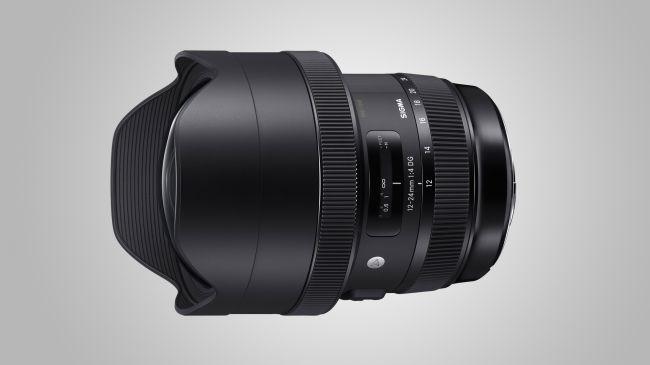 ống kính sigma 12-24mm