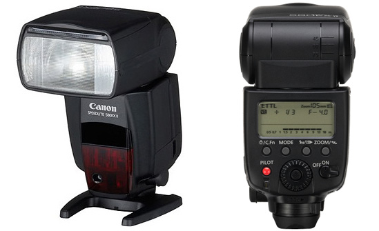 den flash speedlite-580exII