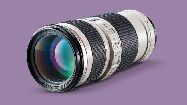 ong kinh Canon EF 70-200mm f4L IS USM