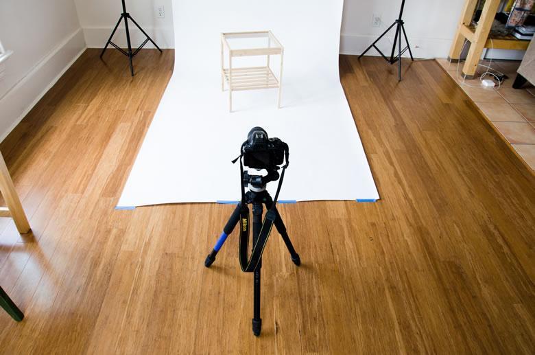 chụp ảnh sản phẩm tại nhà