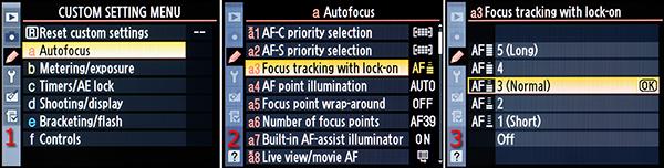 focus tracking nikon
