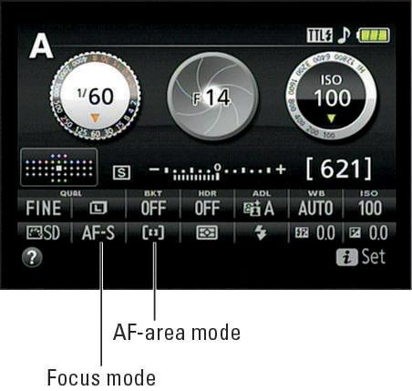 select AF point nikon