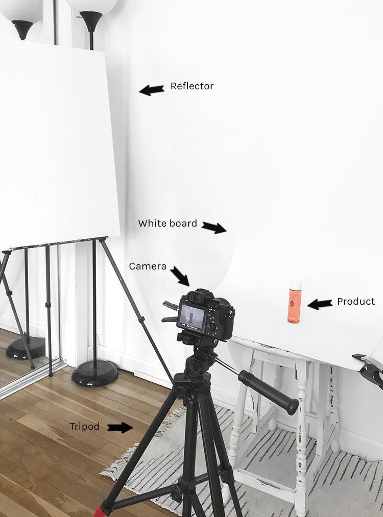 thiết lập chụp sản phẩm