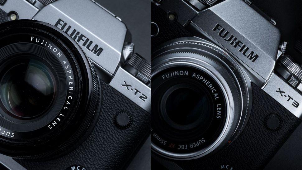 Fujifilm X-T3 và X-T2
