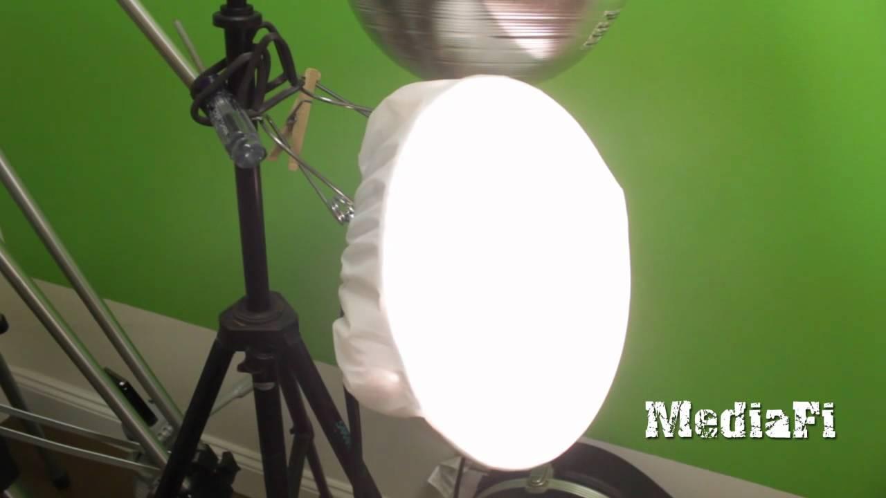 đèn kẹp quay phim