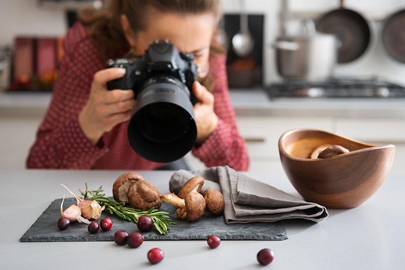 Kiếm tiền với chụp ảnh món ăn