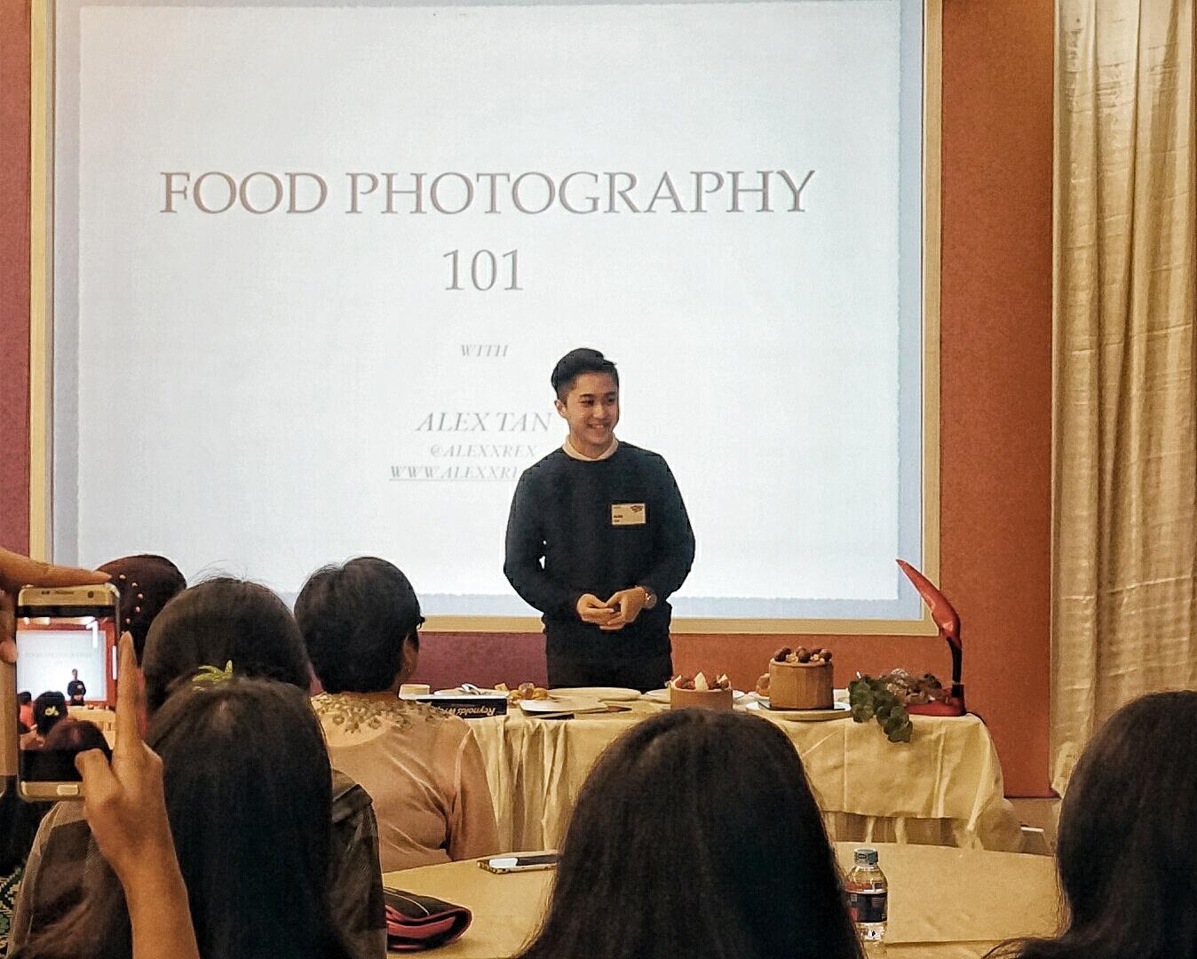 học chụp món ăn
