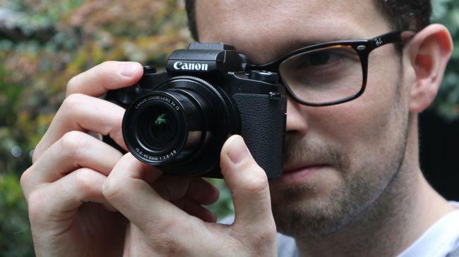 máy ảnh canon G1 X Mark III
