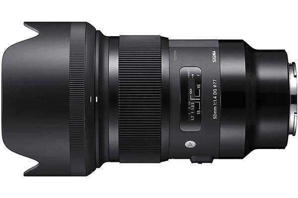 ống kính Sigma 50mm f/1.4 DG
