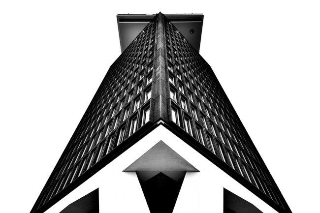 kỹ thuật chụp tòa  nhà
