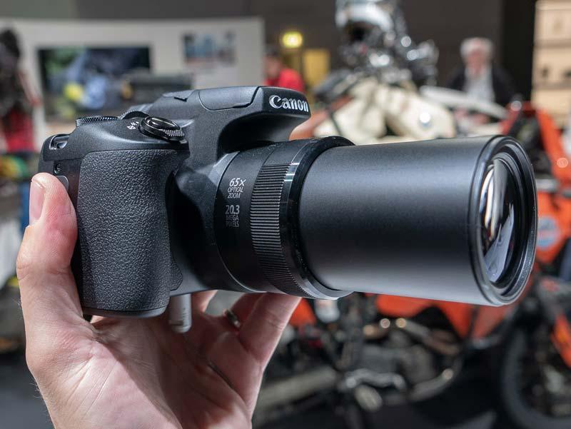 siêu zoom Canon PowerShot SX70 HS