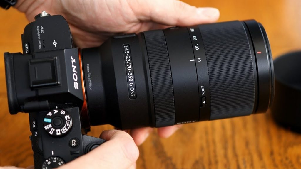 ống kính Sony E 70-350mm F4.5-6.3 G OSS