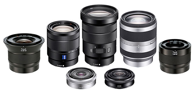 Ống kính Sony E-mount