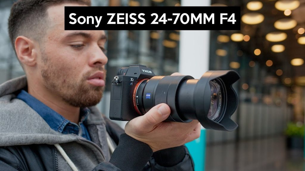 ống kính Sony Vario-Tessar T* FE 24-70mm f/4 ZA OSS