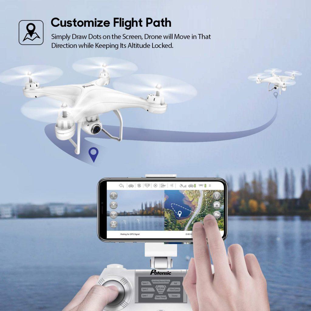 tính năng flycam
