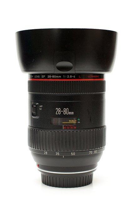 lens Canon EF 28-80mm f/2.8-4 L USM