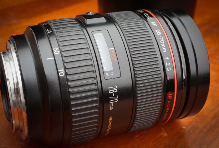 Lens Canon EF 28-70mm f2.8 L USM