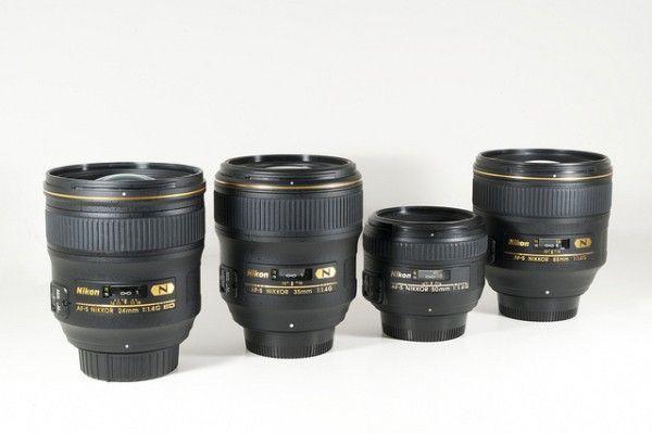 Lens chân dung Nikon