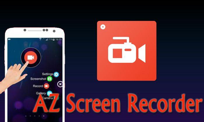 app quay màn hình AZ Screen Recorder