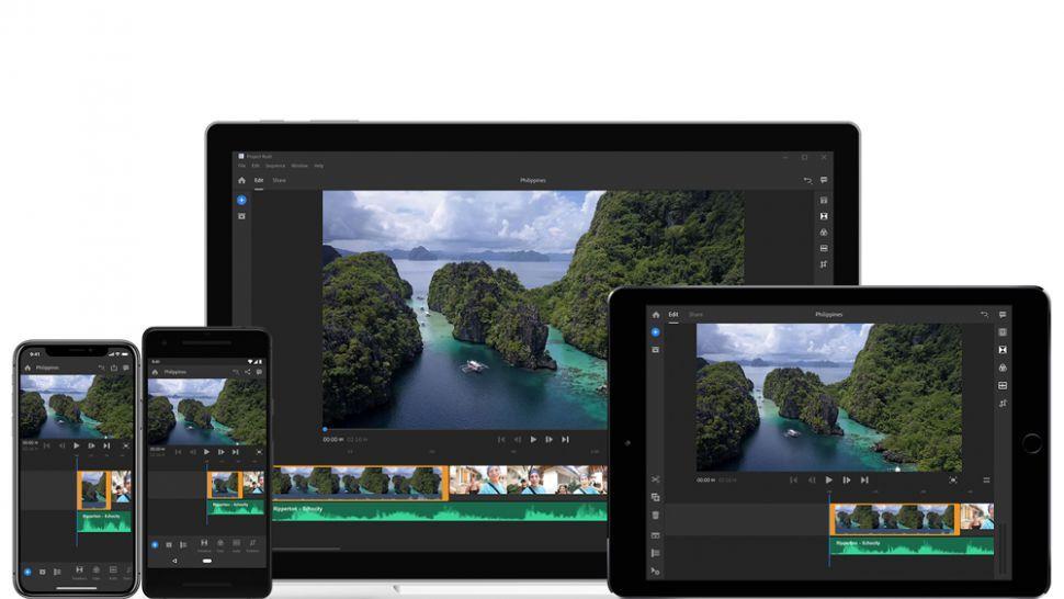 phần mềm Adobe Premiere Rush