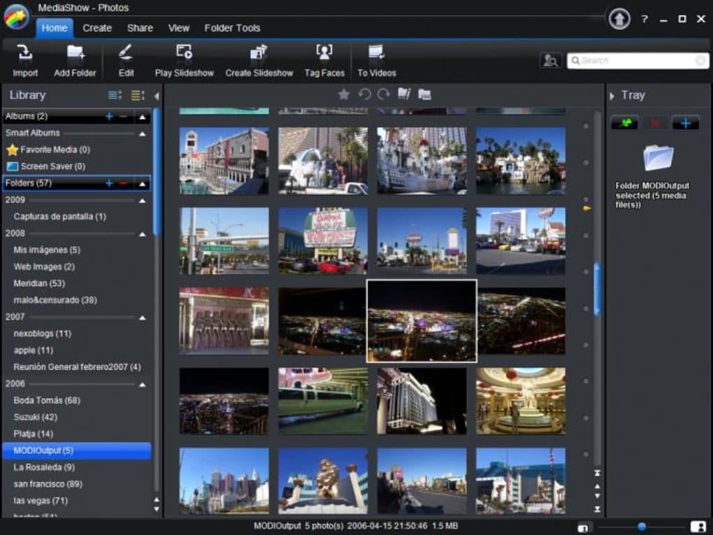phần mềm CyberLink MediaShow