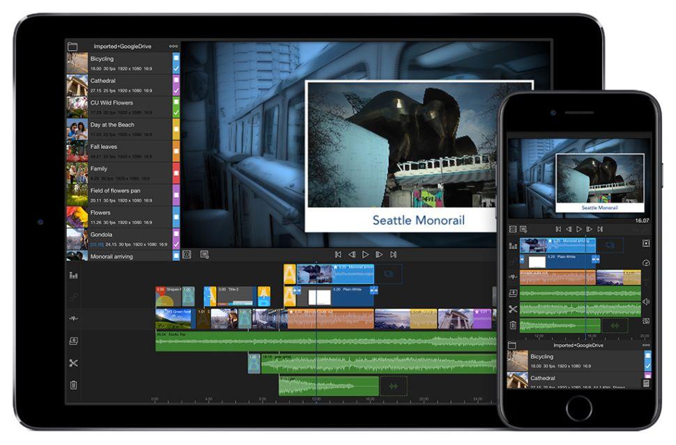 phần mềm edit video LumaFusion