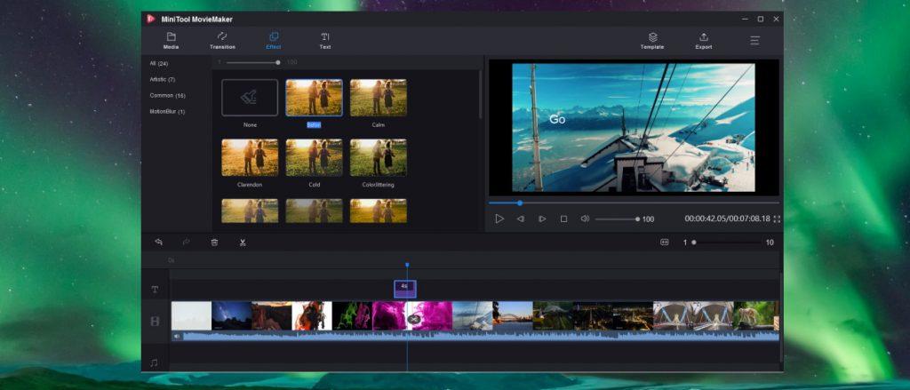 phần mềm MiniTool Movie Maker